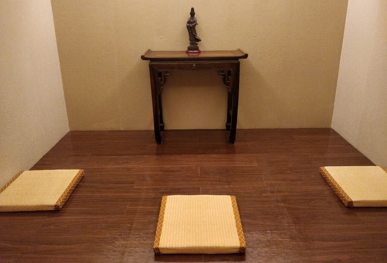 Meditation Room at the Hong Kong Airport